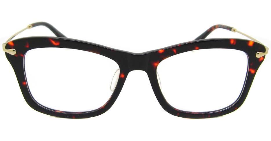 Tortoise blend oval glasses frame TD-MDL2223-C7