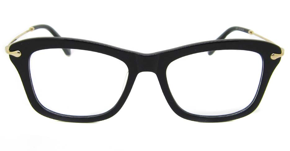 black blend oval  glasses frame TD-MDL2223-C6