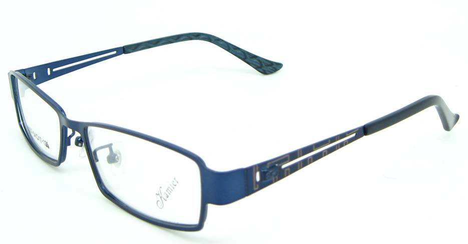 blue Rectangular metal glasses frame JNY-KM8857-L