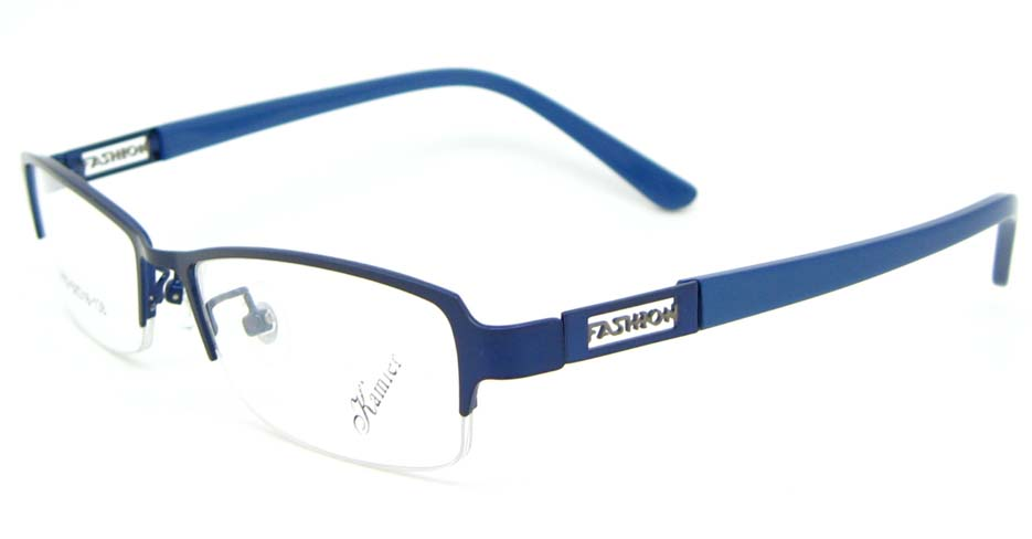 blue blend Rectangular glasses frame WKY-KM22122-L