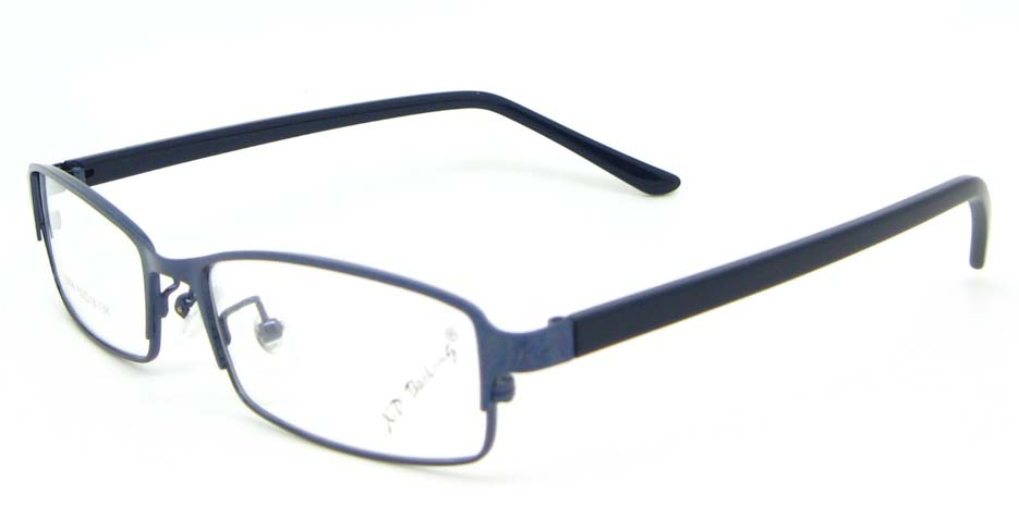 blue blend rectangular glasses frame WKY-XDBL6936-L