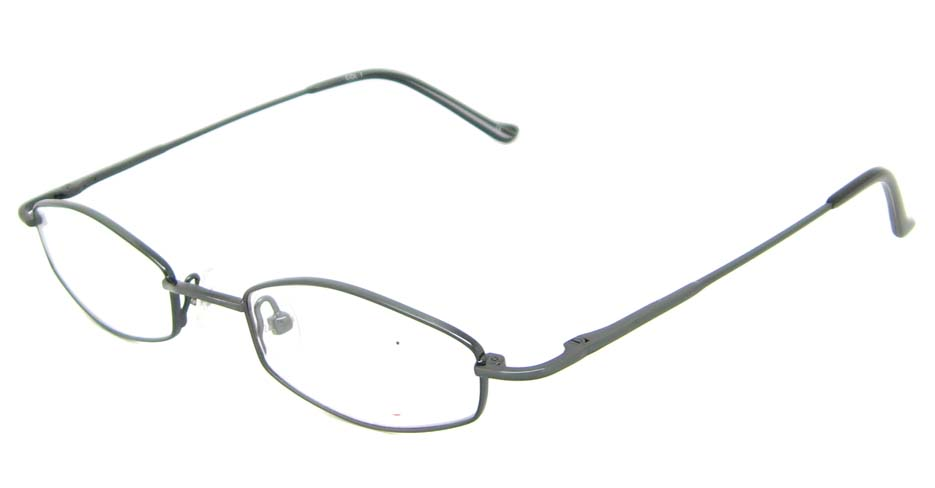 blue cat eye metal glasses frame HL-OSIS-C1