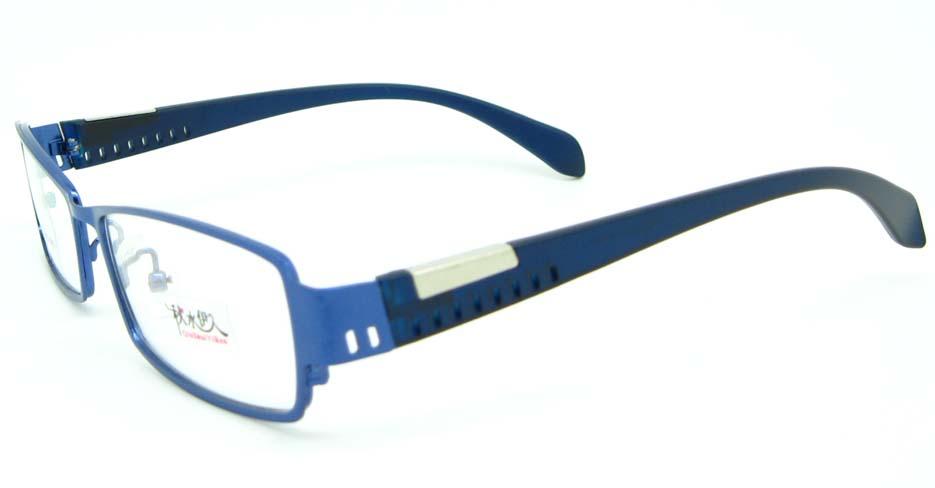 blue  metal Rectangular glasses frame JNY-QSYR2100-L