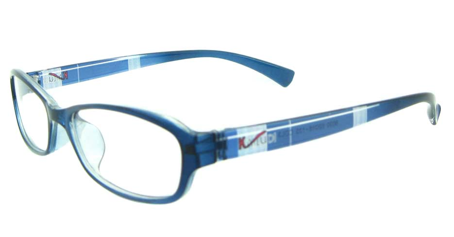 blue oval tr90 glasses frame YL-KDL8030-C3