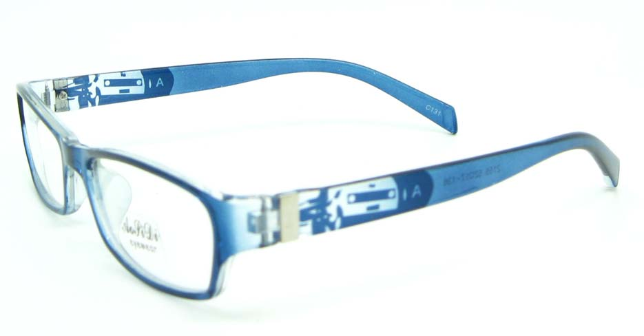 blue tr90 rectangular glasses frame JNY-ASD2155-C131