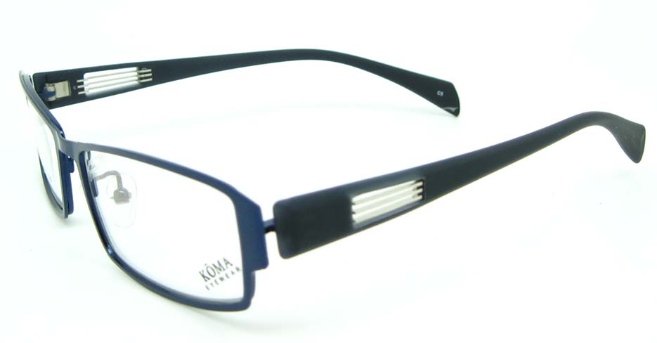 blue with black oval blend glasses frame JNY-KM1821-C5