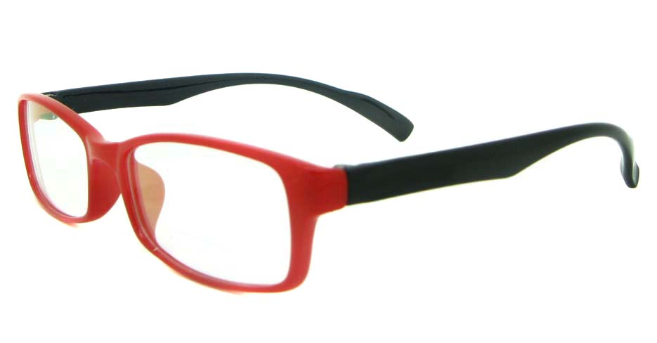 blue with red tr90 Rectangular glasses frame YL-KLD8008-C7