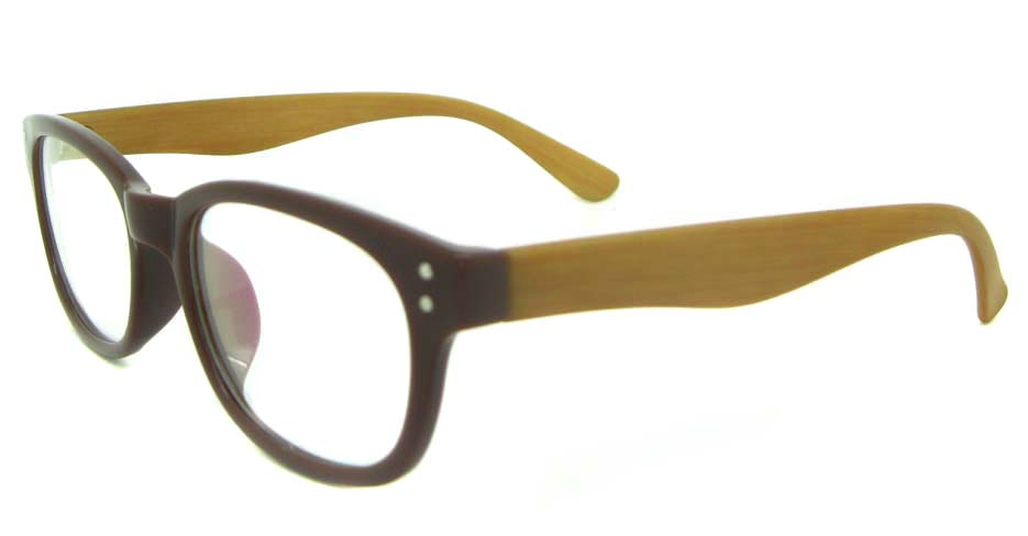 brown oval TR  glasses frame  YL-KLD8073-C5