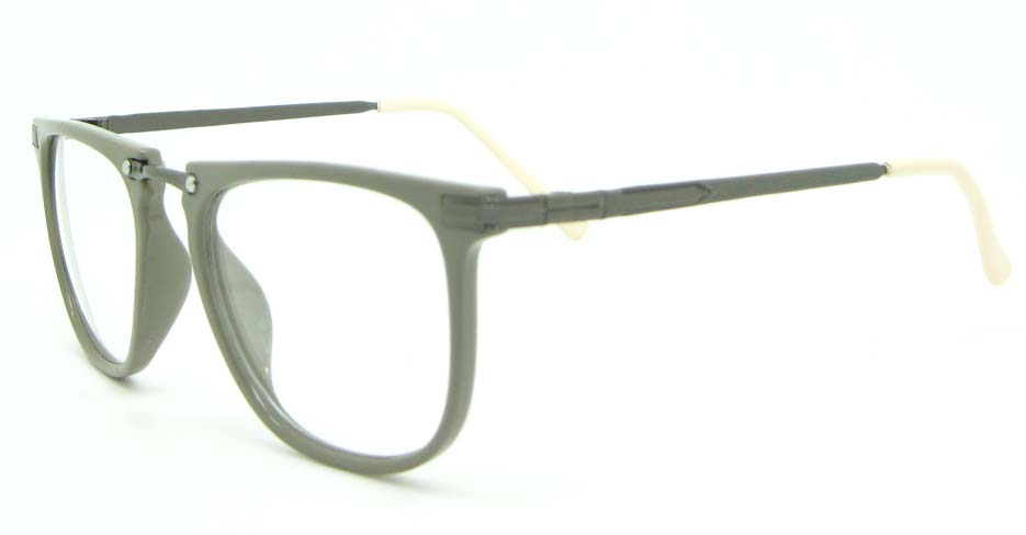 dary grey Wayfarer blend glasses frame WLH-5025-C13