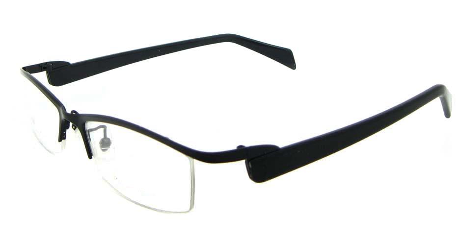 grey blend Rectangular glasses frame WKY-XDBL2321-HS