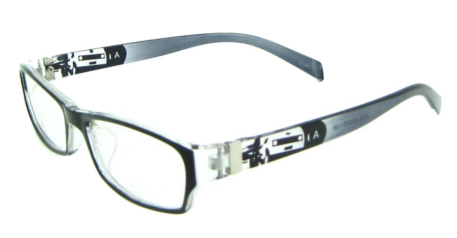 grey tr90 rectangular glasses frame JNY-ASD2155-C148