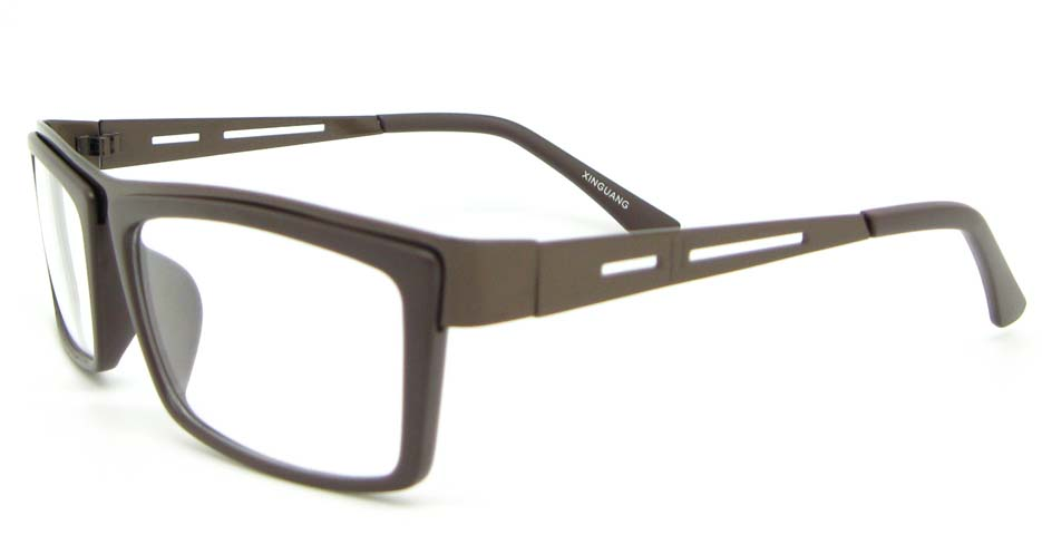 gun blend rectangular glasses frame WLH-SH511-C4