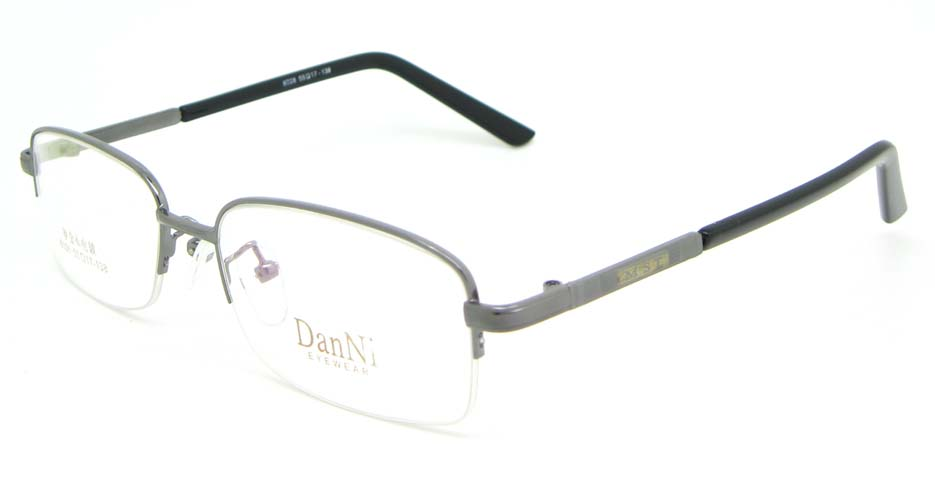 gun metal Rectangular glasses frame WKY-DNI6026-Q