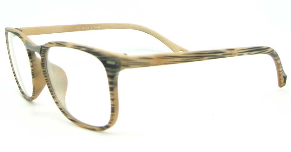 khaki blend Wayfarer  glasses frame WLH-3000-C6