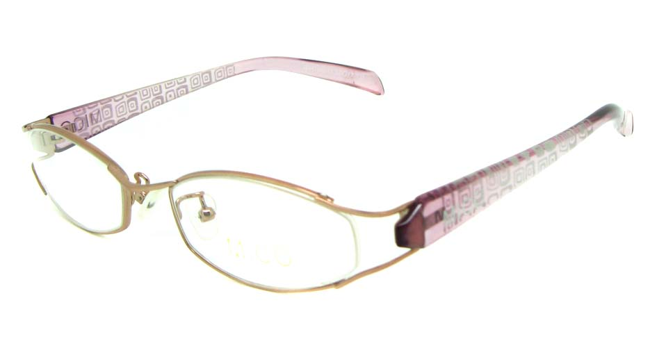 pink blend cat eye glasses frame JS-JDH200819-c2