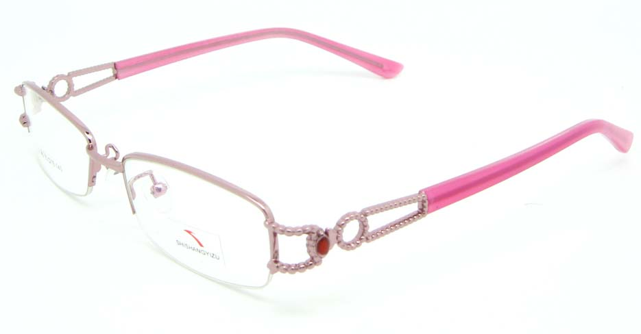 pink blend rectangular glasses frame JNY-SSYZ2146-F