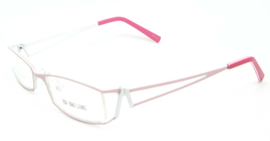 purple metal rectangle glasses frame WKY-XDBL2236-Z