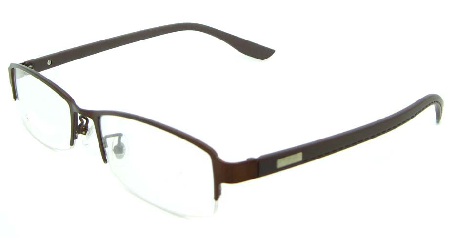 purple rectangular blend glasses frame JNY-KM8855-ZS