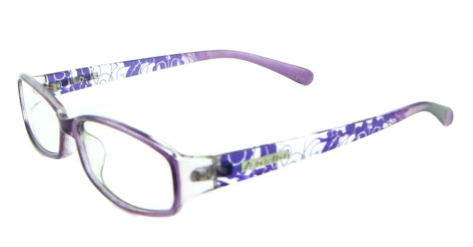 purple with blue tr90 Rectangular glasses frame JNY-ASD2158-C137