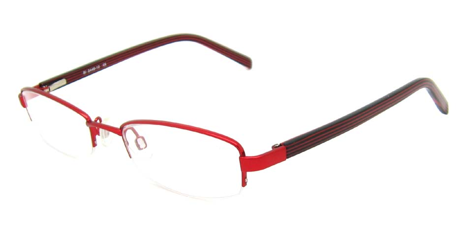 red  rectangle blend  glasses  frame  HL-2446