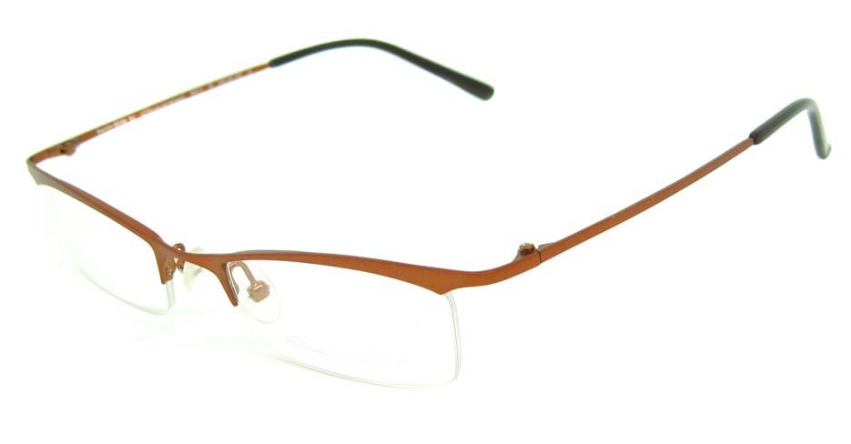 red metal cat eye glasses frame HL-CON12-C30