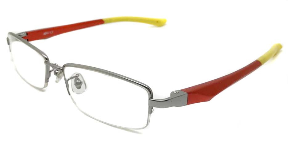 red with yello blend sports Rectangular glasses frame LT-G078-C2