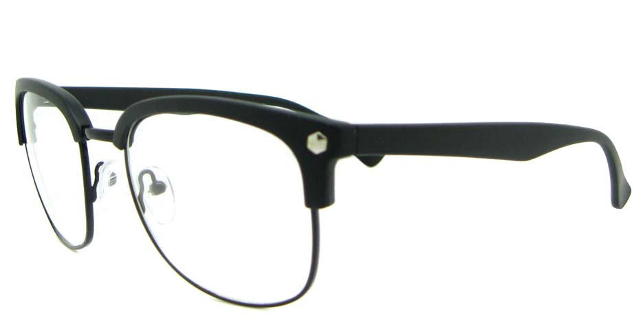 retro blend black  glasses frame   WLH-QS010-C2