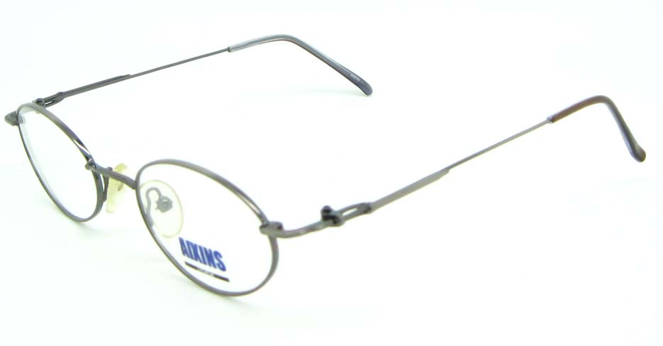 silver metal oval glasses frame JNY-AO2347-Q