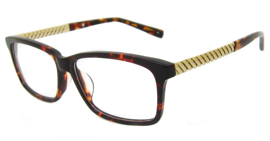 tortoise blend Rectangular  glasses frame TD-MDL2215-C7