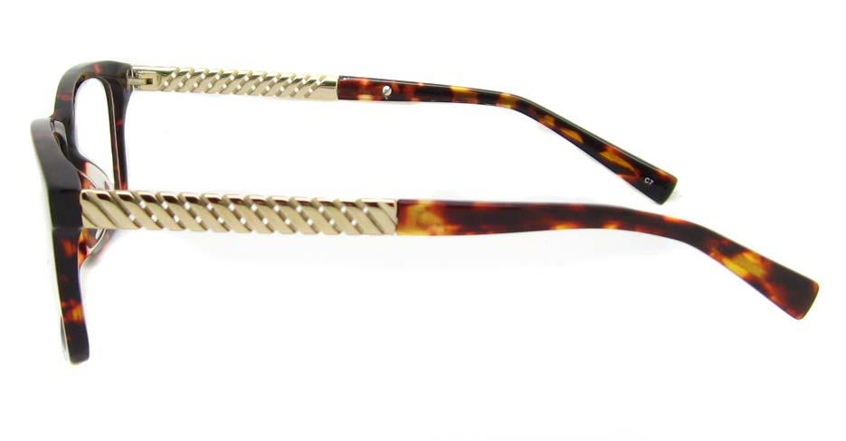 tortoise blend Rectangular  glasses frame TD-MDL2215-C7
