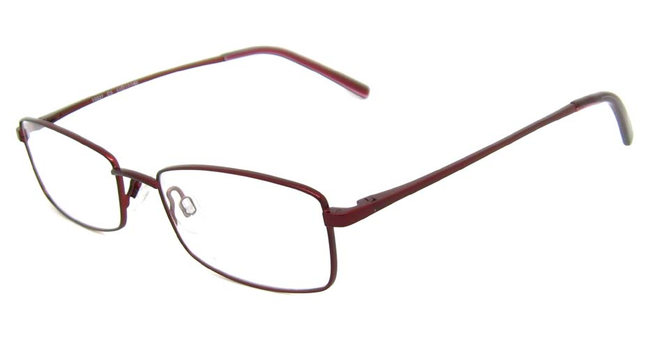 wine metal rectangular glasses frame HL-10337-C3